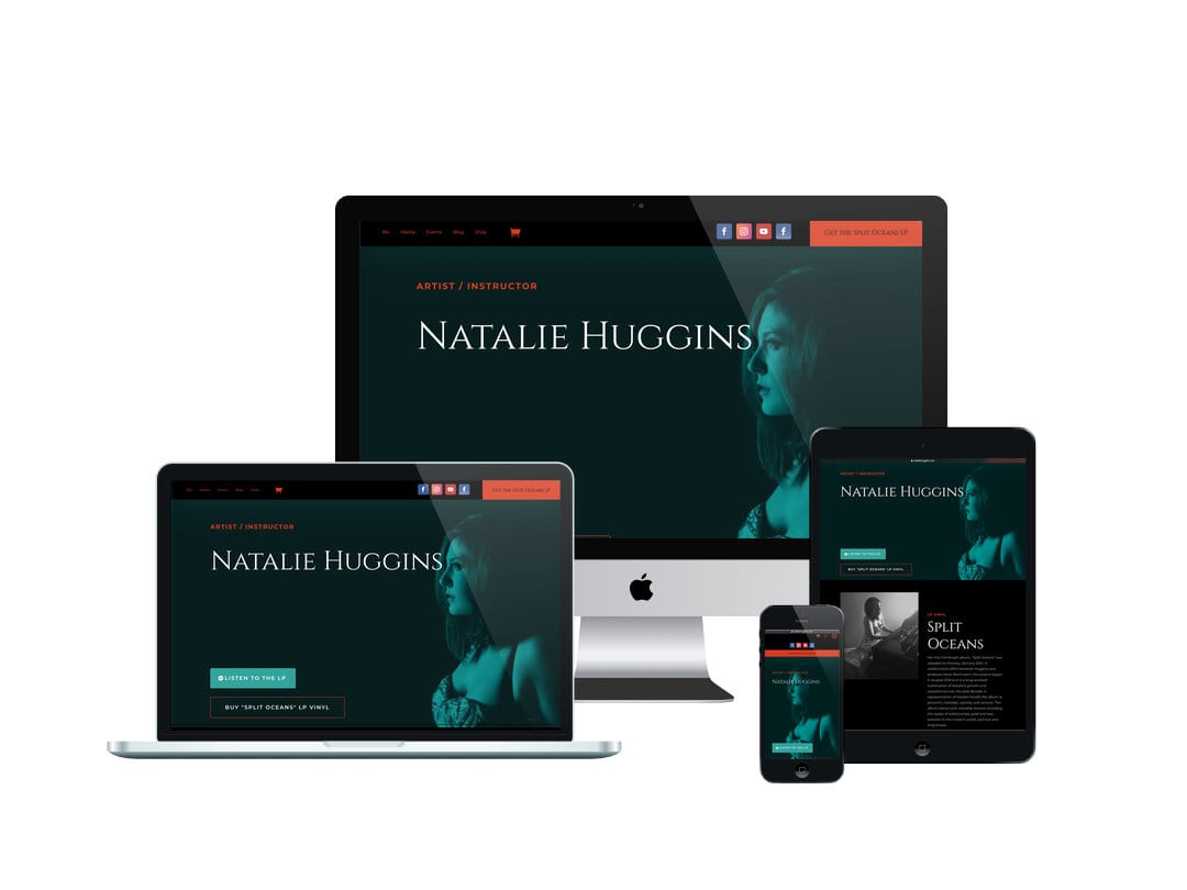 Natalie Huggins Website