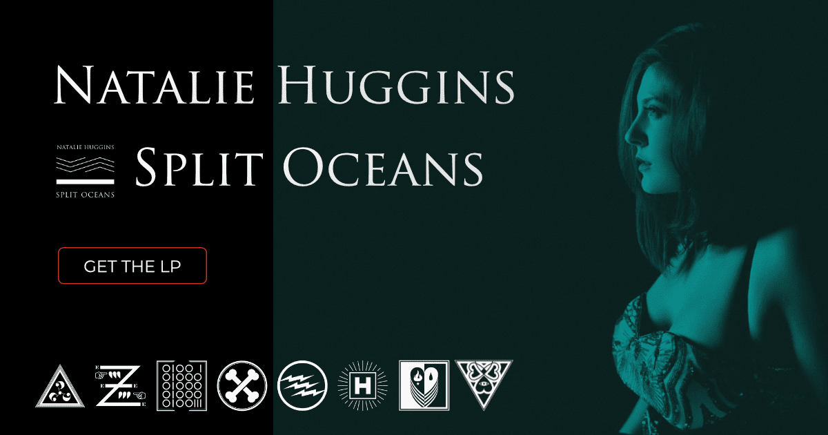 Natalie Huggins Split Oceans LP album facebook social share
