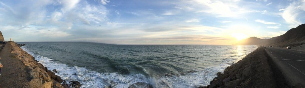 Point Mugu California, Panorama from PCH Highway 1